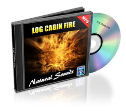 Relaxation Audio Sounds Log Cabin Fire