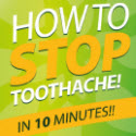 How To Stop Toothache In 10 Minutes