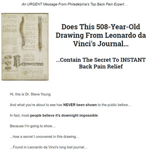 Cure Lower Back Pain Forever
