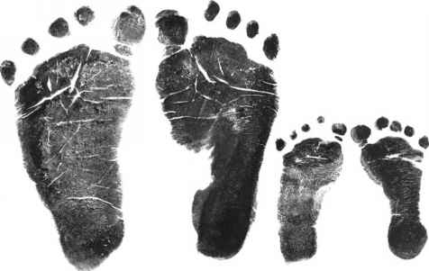 Footprint Baby Boy